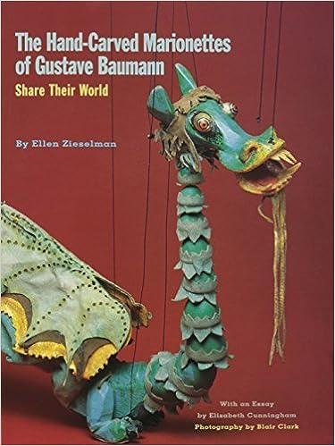 Book Hand-Carved Marionettes of Gustave Baumann by Ellen Zieselman (2015-01-01)