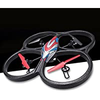 OOFAY Drone with Camera V666N FPV Real-Time Transmission Aerial Quadcopter With Air-Jet Set Drone High-Altitude Model
