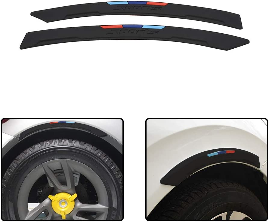Body Motors Suuonee Carbon Fiber Fender Flares Car Anti-scratch ...