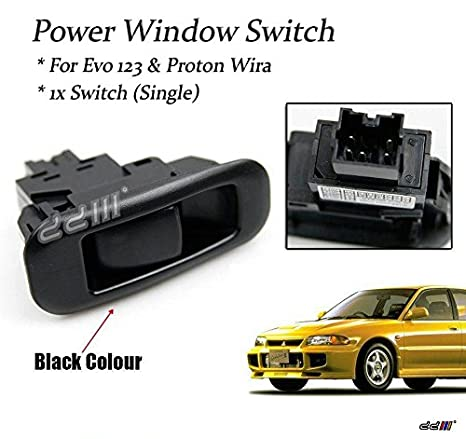 Amazon com: SINGLE WINDOW CONTROL SWITCH BUTTON Proton