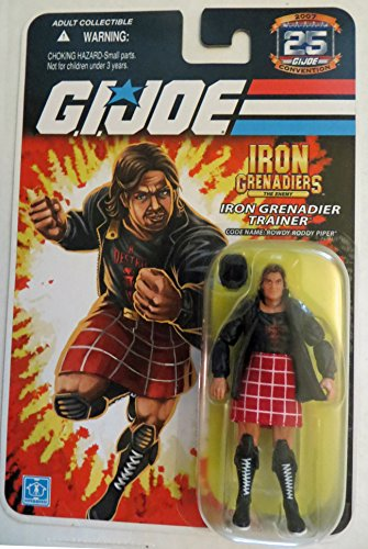 Rowdy Roddy Piper, Iron Grenadier Trainer Action Figure (G.I. Joe) (Rowdy Roddy Piper)