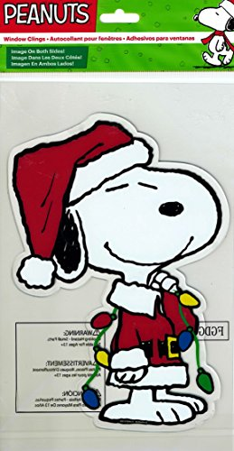 Snoopy Products - Product Works Peanuts Gel Window Cling