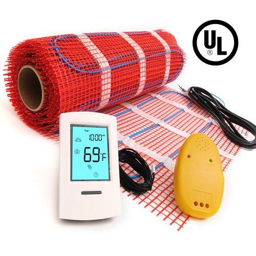 Underfloor radiant heating mat 120V 15sqft