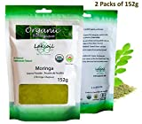 Certified Organic 10.85oz/304g Gourmet Moringa Leaves Powder ( 152gx2)