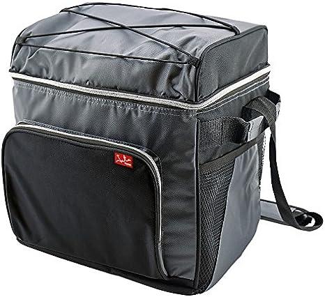 Jata Hogar Take Away Bolsa T/érmica Porta Alimentos Negro//Gris 24X16X20 cm
