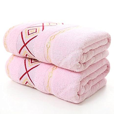 junchen 1 unidades 70 * 140 cm Plaids patrón Jacquard Toalla suaves para adultos pelo mano toallas de mano, b: Amazon.es: Jardín