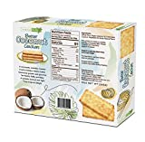 Tropical Fields Butter Coconut Crackers individual