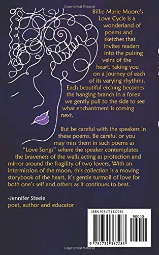 Love Cycle Poems And Sketches Billie Marie Moore 9781731337283