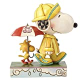 Best Woodstock Anniversary Gifts - Jim Shore Peanuts Friends Through Rain or Shine Review