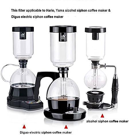 huiingwen Siphon Filtro completo para cafetera y sif/ón