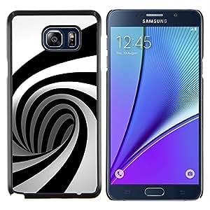 LECELL--Funda protectora / Cubierta / Piel For Samsung Galaxy Note 5 5th N9200 -- Geometría Mente Ben Patrón --