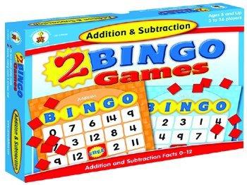 Frank Schaffer Publications/Carson Dellosa Publications Addition & Subtraction Bingo Carson Dellosa Addition Bingo