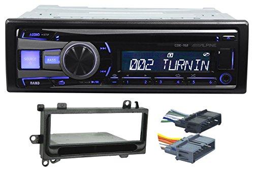 97 02 jeep wrangler tj alpine cd player stereo receiver. Black Bedroom Furniture Sets. Home Design Ideas