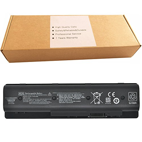MC06 58Wh Laptop Battery for HP Envy 15-ae100 17-n000 17-n100 17-r000 m7-n000 Series Notebook 804073-851 805095-001 806953-851 807231-001 HSTNN-PB6L TPN-C123 N2L86AA 11.1V 5200mAh by RDSJ