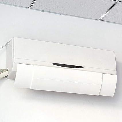 Hztyyier Deflector de Aire Antiviento Aire Acondicionado Cubierta del Deflector Retráctil Protección contra el Viento Dirección antiviento del Viento(Blanco): Amazon.es: Hogar