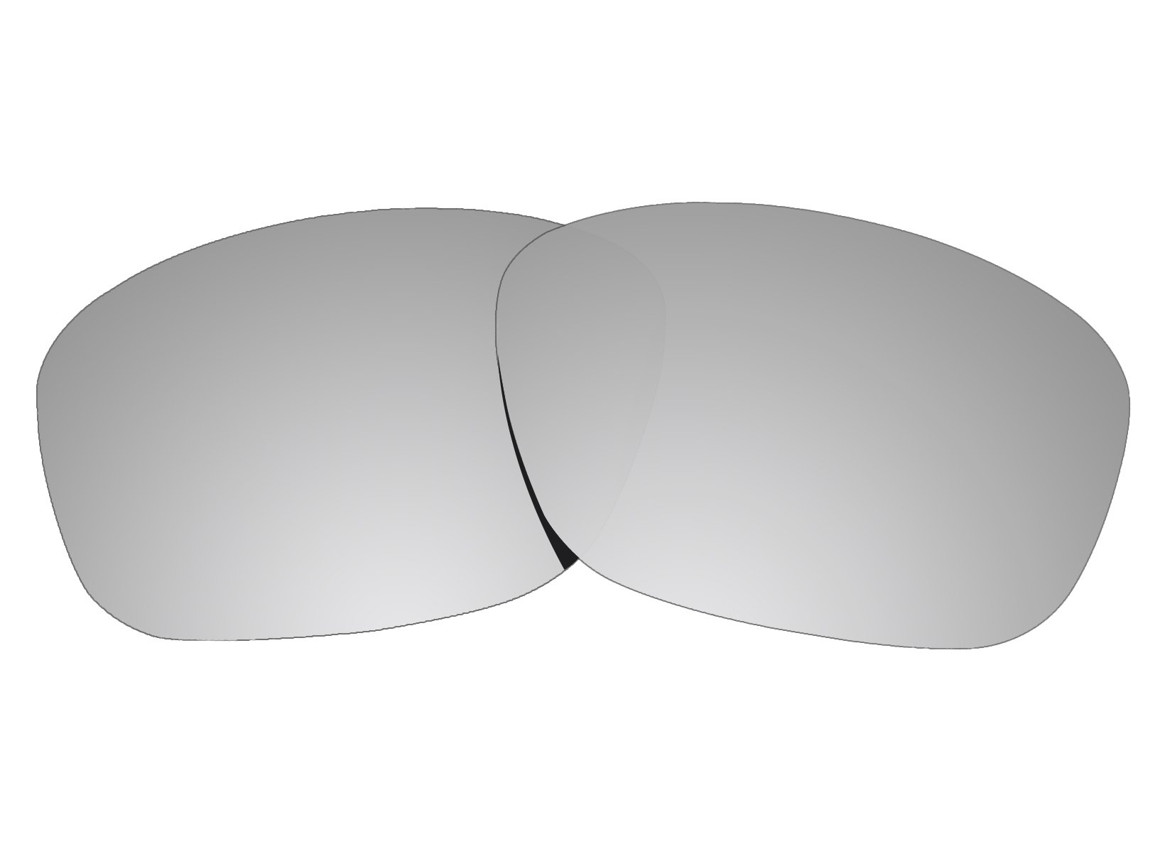 COLOR STAY LENSES 2.0mm Thickness Polarized Replacement Lenses for Oakley Sanctuary OO4116 Titanium Mirror Coatings