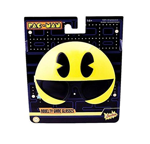 Used, Sunstaches Pacman Pacman Sunglasses, Party Favors, for sale  Delivered anywhere in USA