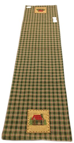 Cabin Plaid Table Runner 13 x 54 inches by Park Designs (Image #1)