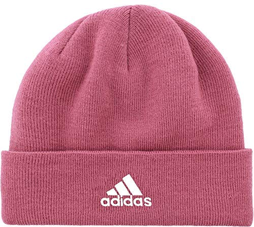 adidas Women's Team Issue Fold Beanie (Trace Maroon, OneSize)