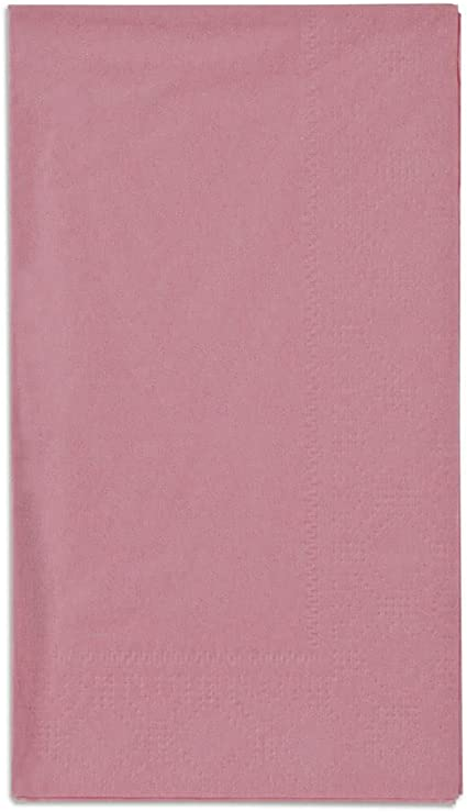 Hoffmaster 180525 Dusty Rose Pink 15 X 17 Embossed Paper Dinner Napkins 2 Ply 125 Pack Amazon Ca Home Kitchen
