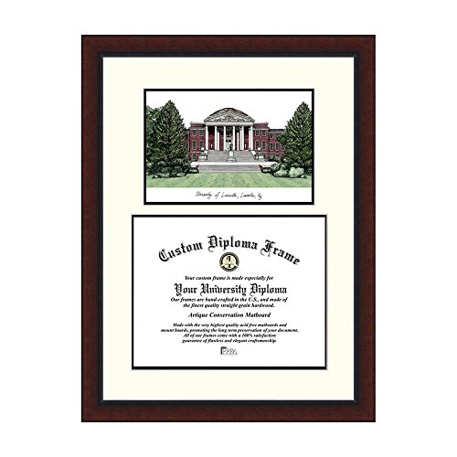 Campus Images NCAA University of Louisville Legacy Scholar Frame by Campus Images