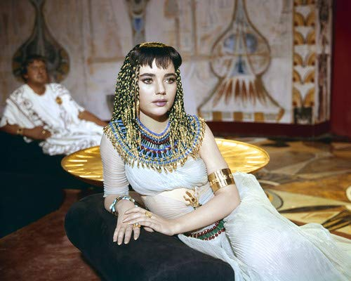Brigid Bazlen in King of Kings Striking image Egyptian costume as Salome 8x10 Aluminum Wall Art