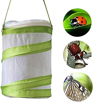 SANGDA - Jaula portátil para insectos con mango plegable para jardín: Amazon.es: Productos para mascotas