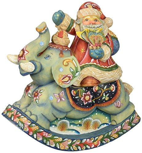 Derevo Collection (G. Debrekht Santa on Elephant Box , 7