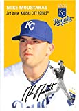 Mike Moustakas baseball card (Kansas City Royals World Series Champ) 2012 Topps Archives #49 Rookie Season