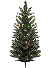 Vickerman 11261871 Pre Lit Canadian Pine Artificial Christmas Tree With Clear Lights 3