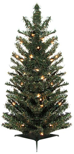 vickerman 11261871 pre lit canadian pine artificial christmas tree with clear lights 3 - Amazon Artificial Christmas Trees