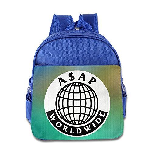 (Asap Rocky Logo Kids School RoyalBlue Backpack)