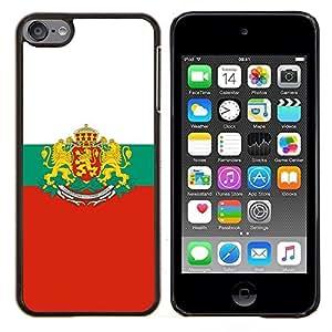 "Be-Star Único Patrón Plástico Duro Fundas Cover Cubre Hard Case Cover Para iPod Touch 6 ( Majestic Crest Bandera"" )"