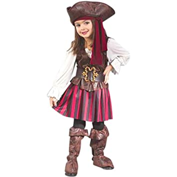 Amazon.com Childu0027s Toddler High Seas Girls Pirate Costume (2T) Toys u0026 Games  sc 1 st  Amazon.com & Amazon.com: Childu0027s Toddler High Seas Girls Pirate Costume (2T ...