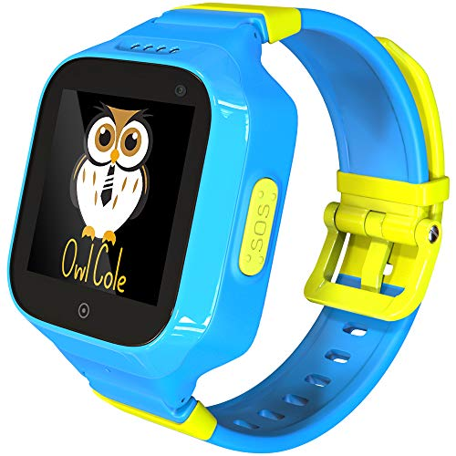 3G GPS Tracker Best Waterproof Wrist Smart Phone Watch for Kids with Sim Slot Camera Anti Lost Fitness Tracker Birthday Holiday for Children Boys iPhone Android Smartphone (Best Smartphone For Kids)