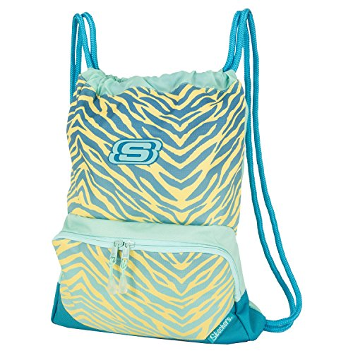 Cheap United Legwear Company Skechers Drawstring Carrysack Blue/Yellow