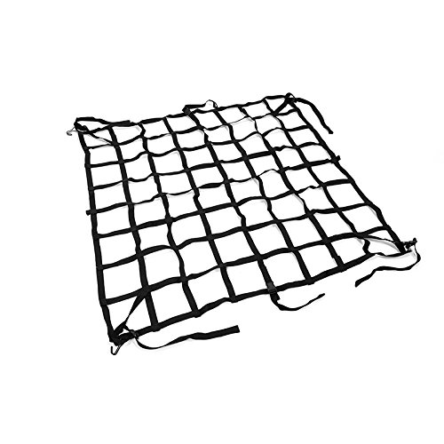 Toyota Tacoma 05-15 Short Bed Cargo Net Durable Nylon Black (2013 Toyota Tacoma Cargo Net compare prices)