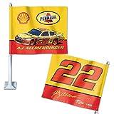 WinCraft A.J. Allmendinger Official NASCAR 14 inch Car Flag by 856746