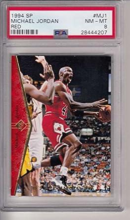74be80fbd59a9 Amazon.com: 1991 Upper Deck SP #MJ1 Red Insert Michael Jordan (HOF ...