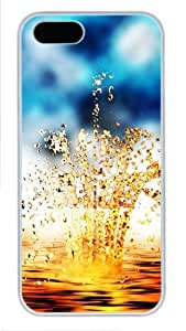 Goldwater rhythm the best iphone 5S covers PC White for Apple iPhone 5/5S
