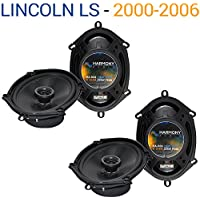 Lincoln LS 2000-2006 Factory Speaker Replacement Harmony (2) R68 Package New