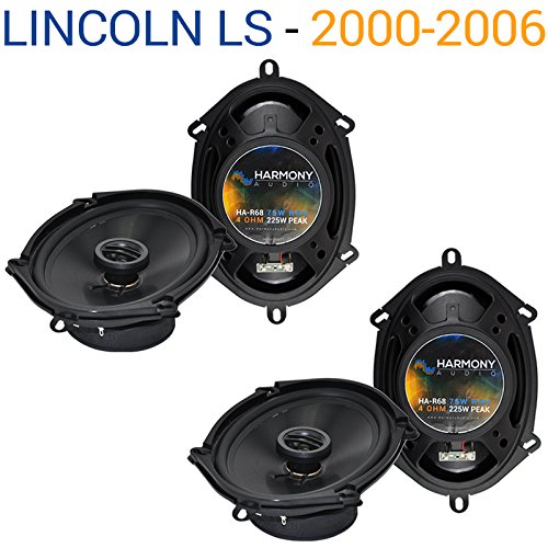 Fits Lincoln LS 2000-2006 Factory Speaker Replacement Harmony (2) R68 Package New 2002 Lincoln Ls Replacement