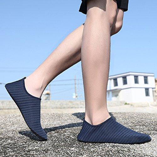 Wodun Surf for Shoes Blue Women Dark Aqua Beach Yoga Water Shoes Exercise Barefoot Sock Pool Swim Unisex Men rTYPr