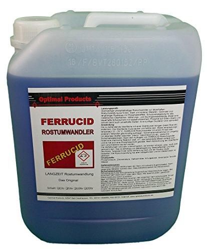 Optimal Roestomvormer/roestverwijderaar 5 liter oper
