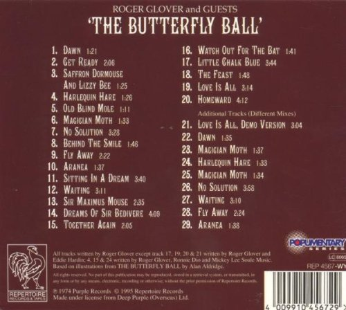 The Butterfly Ball and the Grasshopper's Feast by Repertoire