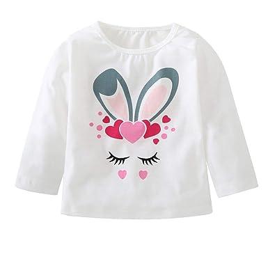 3835fa83bde76 HEHEM Baby Clothes Newborn Infant Set Newborn Long Sleeve Tops Toddler Kids  Baby Boy Girl Animal Long Sleeve T Shirt Tops Clothes Outfit: Amazon.co.uk:  ...
