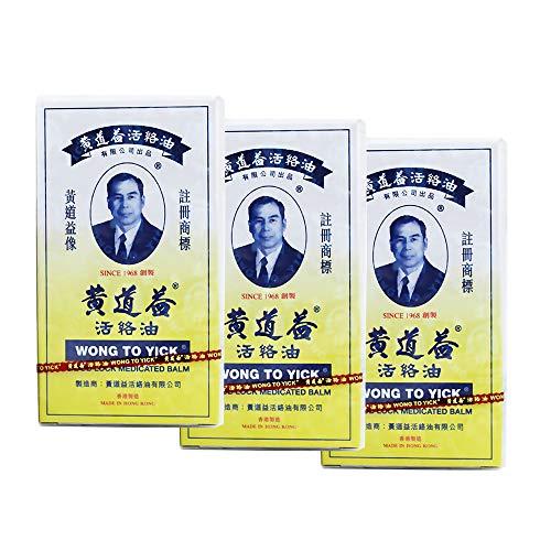 Weka 3pcs Wong to Yick Wood Lock Oil Balm 50 ml