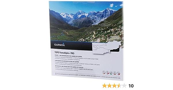 Garmin Uni Topo Transalpin + Pro, Mapa topográfico Vectorial, Negro, M.: Amazon.es: Deportes y aire libre