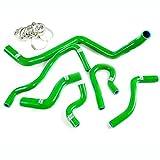 Silicone Radiator Hose Kit For 92-00 HONDA CIVIC EK EG EX SOHC D15 D16 Green
