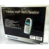 BlueTinum VOIP WIFI WLAN Telefon WiFi Phone, BT-WFP1000, Handy SIP, WEP, WPA NEU